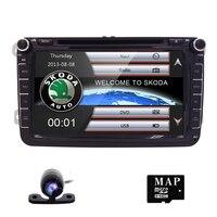 Autoradio 2 din Car DVD Player for VW Passat B6 T5 Skoda Octavia 2 3 fabia Seat leon 2 amarok volkswagen golf 5 6 Touran CD