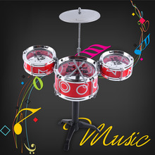 OCDAY Mini Baby Infant Jazz Drum Rock Set Toy Musical Instrument Educational Toy Kids Early Learning
