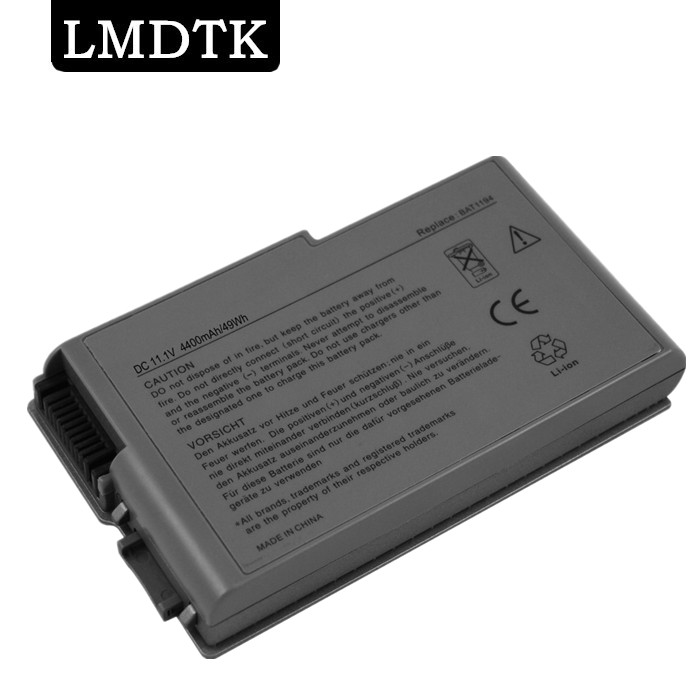 LMDTK New laptop battery for Dell Latitude D500 D505 D510 D520 D600 D610 D530 Series 4P894 C1295 3R305 FREE SHIPPING used look like new black laptop notebook keyboard 0pf236 nsk d5k01 9j n6782 k01 for dell latitude d520 d530 us