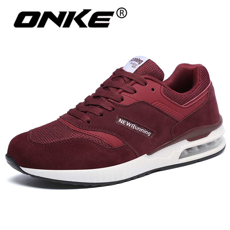 2018 Air Cushion Sneakers for Men Breathable Mesh Running Shoes Lightweight Sports Man Shoes Outdoor Walking Trainers 722 2017brand sport mesh men running shoes athletic sneakers air breath increased within zapatillas deportivas trainers couple shoes