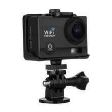 Q5 12MP 2.0″ HD LCD Display WiFi Video DV Action Sports Camera — Night Vision 30M Waterproof PC Camera 1080P 170 Degree Wide