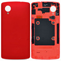 For LG NEXUS 5 D820 Original Red Battery Door Cover Back Housing With NFC Antenna Flex Cable High Quality Free Shipping