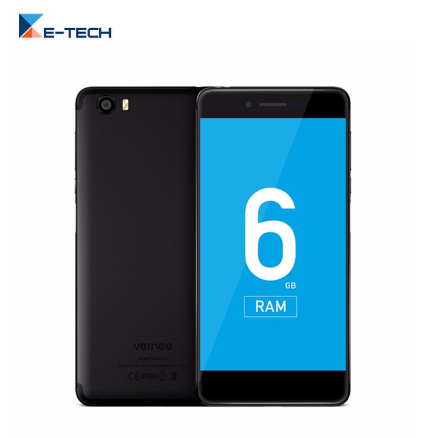Vernee Mars Pro Smartphone 6G RAM 64G ROM MTK6757T Octa core Cellp Phone 5.5 Inch Screen 4G Fingerprint Android 7.0 Mobile Phone