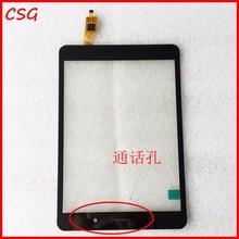 "Nueva Pantalla Táctil Del Digitizador Para 8 ""CONFIANZA CT080SG318 3030-0800462 Tableta Táctil de reemplazo del sensor del panel Envío Gratis"