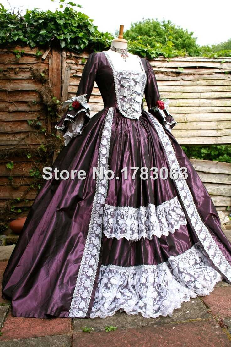 Gothic Marie Antoinette Victorian Ball Gown Renaissance