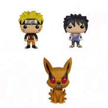 pops Naruto Sasuke horse kyuubi Kurama Hokage Uitimate Ninja cute Figure High Quality Action Toys model