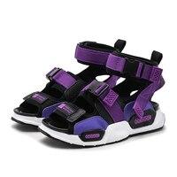 New Kids Summer Beach Shoes Fashion Casual Sport Boys Girls Sandals Barefoot Soft Anti Slip Flat Children Sandals