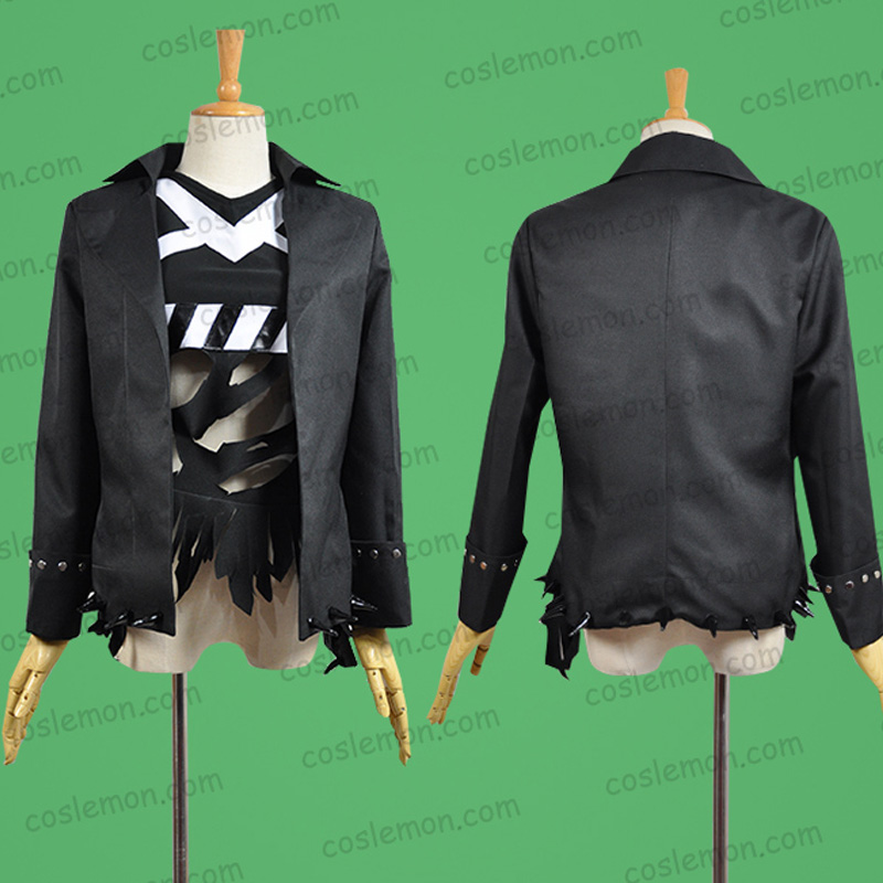 Show рок! Tasmaniandemon Клавиатуры Косплэй Хэллоуина равномерное наряд рубашка + пальто на заказ