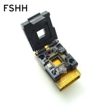 Clamshell PLCC44 to DIP40 Programmer Adapter PLCC44-DIP40 ic test socket pmd100 dip40