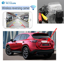 цена на YESSUN For Mazda CX-5 CX 5 CX5 2015 2016 back up Reverse Camera Auto Wireless Rear View Camera Rear View Camera  Night Vision