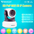 HD 720P Mini Home Night Vision Cameras IP wireless Network Camera WIFI P2P VStarcam C7824WIP with 3db antenna