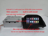 7 Inch Android 5 1 1 For Ford Fiesta 2 Din Car Dvd Gps Wifi 3G
