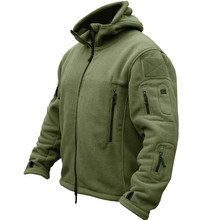 Winter Military Uniform Clothes Softshell Jacket Men Tactical Thermal Breathable Hooded Coat Army Camo  Outerwear недорого