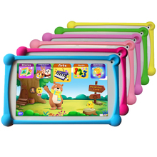 Купить с кэшбэком Kids Tablet, B.B.PAW 7 inch 1G+8G Android 6.0 Tablet with 120+ English Learning&Training Apps, Tracking Information Available