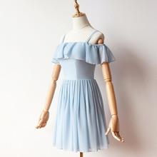 드레스 bridemaid 뒤로 블루