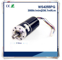 12v or 24v 42mm DC Gear Motor Customized micro brushless dc planetary gear reduction motor Gear box motor