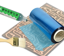 PCB material sensitive dry film production PCB single sided board sensitive plate photosensory membrane copper clad laminate