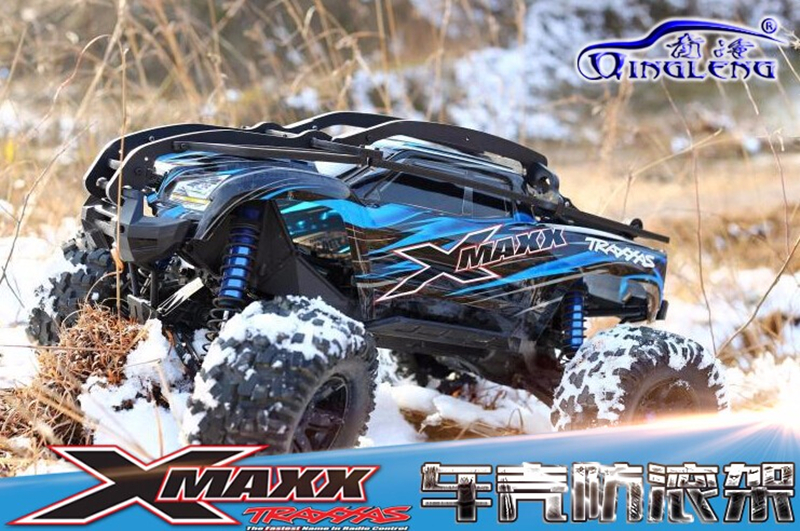 TRAXXAS X-MAXX Roll Cage Roll Bar Sway Bar Shell Version For Rc Car 1/5 XMAXX Car Excluded body Shell Protection free shipping traxxas trx x maxx xmaxx rc crawler car raise head tires rear stand up wheels anti roll over tyres spare parts