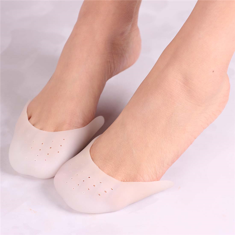 Silicone Gel Toe Soft Ballet Pointe Dance Shoes Pads Foot Care Protector High Heels Toe Pads Gel Orthopedic Massager-in Foot Care Tool from Beauty & Health