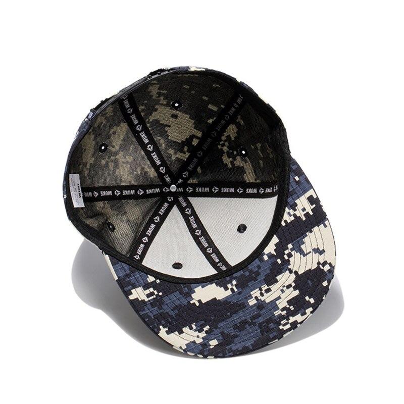 Nueva gorra de camuflaje Digital para hombre Gorras Planas Hip Hop Snapback  sombreros para mujer Casual Sun marca Gorras de béisbol sombrero de  camuflaje ... 91348d4c71e