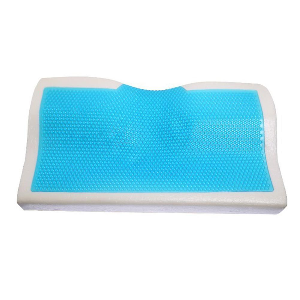 1 pièces été oreiller en mousse à mémoire de forme papillon Gel de refroidissement orthopédique cou oreiller de lit de soins cervicaux pour adultes soutien du cou