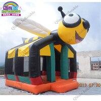 Подпрыгивая замки головоломки надувной playgroud дом для детей Bad Dog игра прыжки замок с воздуходувки