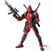 Epic Marvel Deadpool Toys Super Poseable Ultimate Collector's 1/10 Scale Action Figure NECA PVC Collectible Model Toy