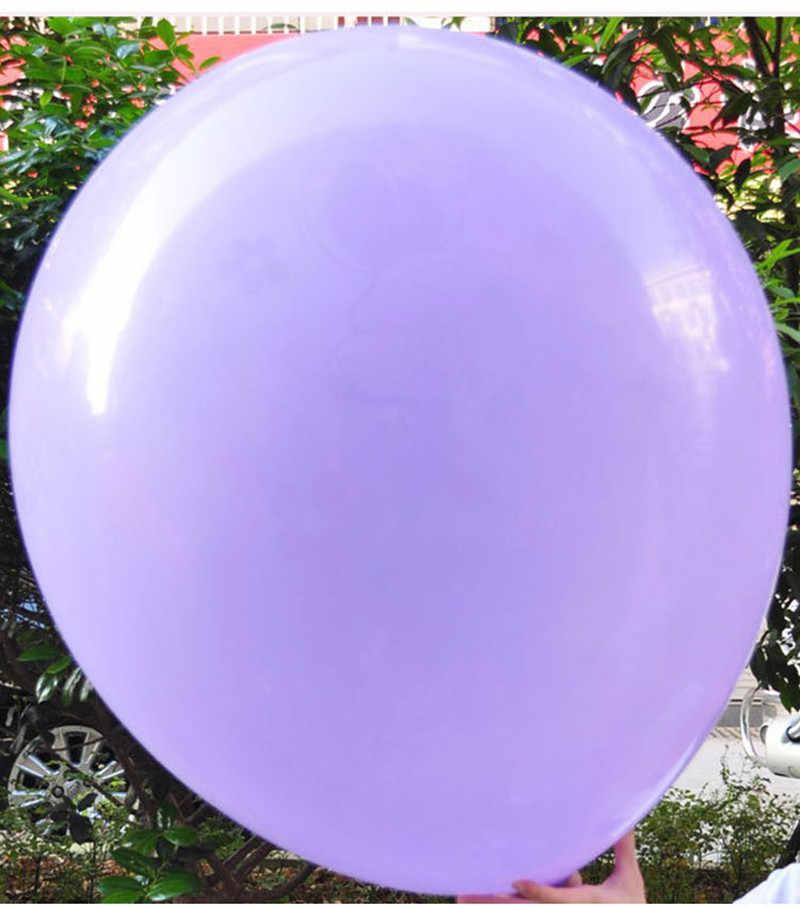 Globos de látex de helio grandes coloridos de 1 Uds. 27 pulgadas globos de helio hinchables globos gigantes para bodas fiesta de cumpleaños decoración de globos grandes