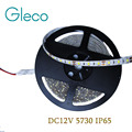 5730 SMD LED strip flexible light 12V Waterproof 60LED/m 5m/lot,New LED Chip 5730 Bright Than 5630,5050, Super Bright