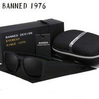 54mm Fashion Unisex Square Vintage Polarized Sunglasses Mens Polaroid Women Rivets Metal Design Retro Sun Glasses