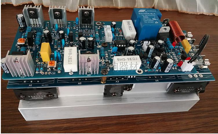 Amplifier Trustful New A1943 C5200+2sc3858 2sa1494 Or 2sc2922 2sa1216 Assembled 350w Powerful Amplifier Board Home Audio & Video Mono Amp Board Stage Amplifer Board Diversified In Packaging