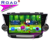 TOPNAVI Android 6.0 2G+32GB 10.1 Car Multimedia Player Audio For Toyota Highlander 2009 2014 Stereo GPS Navigation NO DVD 2Din