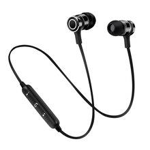 Aibesser esportes fone de ouvido estéreo bluetooth nova chegada de sucção magnética handsfree neckband fone de ouvido bluetooth universal