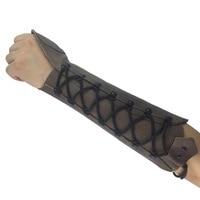 Boogschieten Arm Guard Voor Boog Jacht Unisex Leather Protector Bracer Handschoen Verstelbare Beschermende Gear Schieten