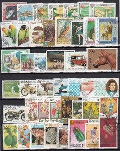 Image 5 - 1000 Teile/los Lot Verschiedenen Briefmarken Mit Post Markieren In Gutem Zustand Für Sammlung timbri stempel