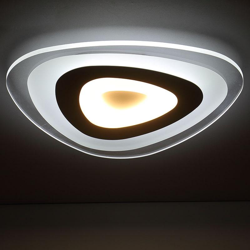 remote control living room bedroom modern led ceiling lights luminarias 3 color dimming led. Black Bedroom Furniture Sets. Home Design Ideas