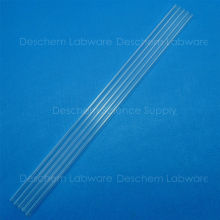 5PCS 300mm,Quartz Glass Tube,OD=10mm,Thcik=1.5mm,Made Form Fused Silica(China)