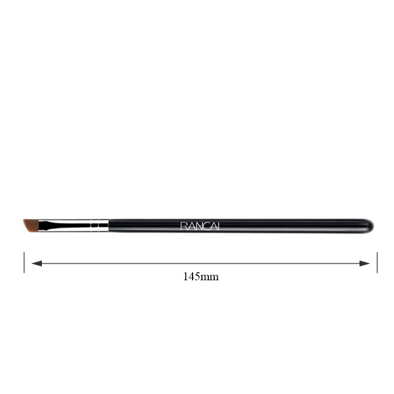 Angled eyebrow brush synthetic hair professional makeup brushes (4)