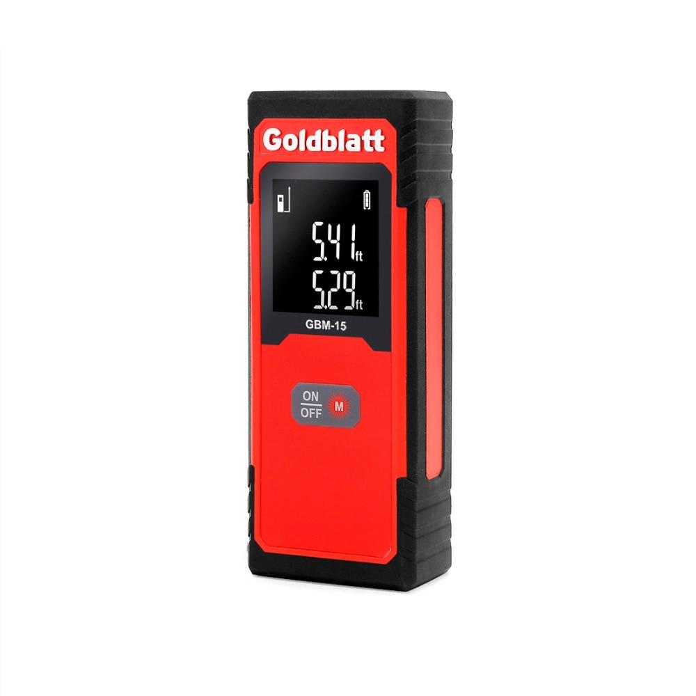 GOLDBLATT Digital Laser Rangefinders 50FT/15M Laser Distance Measure Tool садовый шланг oem 15m 50ft 7 1