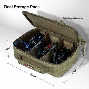 Image 4 - Многофункциональная сумка для рыбалки Piscifun, большая сумка для хранения снастей, Портативная сумка для занятий спортом на открытом воздухе, Походов, Кемпинга, сумка для рыбалки