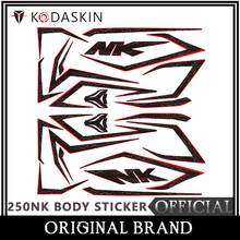 KODASKIN Motorcycle For CFMOTO 250NK 2D Fairing Emblem Sticker Decal