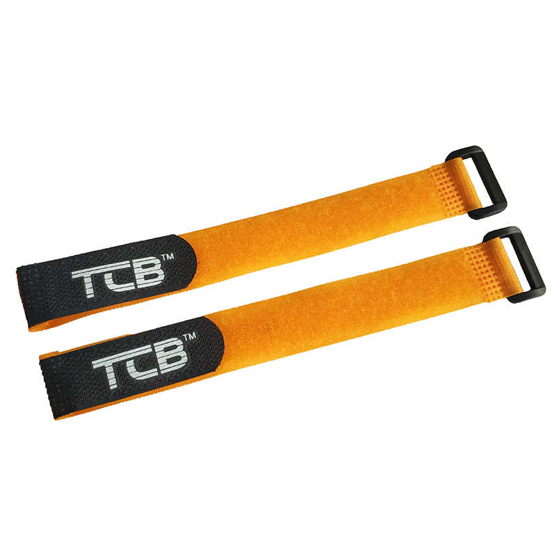 2 stks 200mm Lipo Batterij Nylon Band Magic sticker RC model anti-gesp tape Hoge kwaliteit Antislip Tie riem bandjes