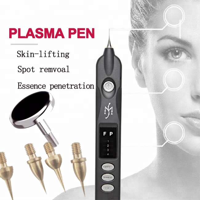 2019 newest Beauty Monster Plasma Pen Dark Spot Pigment Mole Tattoo Wart Removal Tool Skin Firming Ionic Skin Care Machine