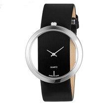 2020 New Luxury Brand Leather Quartz Watch Men Women Ladies