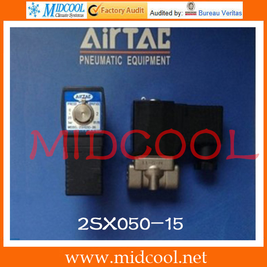 Original AirTAC Fluid control valve (2/2way) 2S Series (Direct-acting and normally closed) 2SX050-15