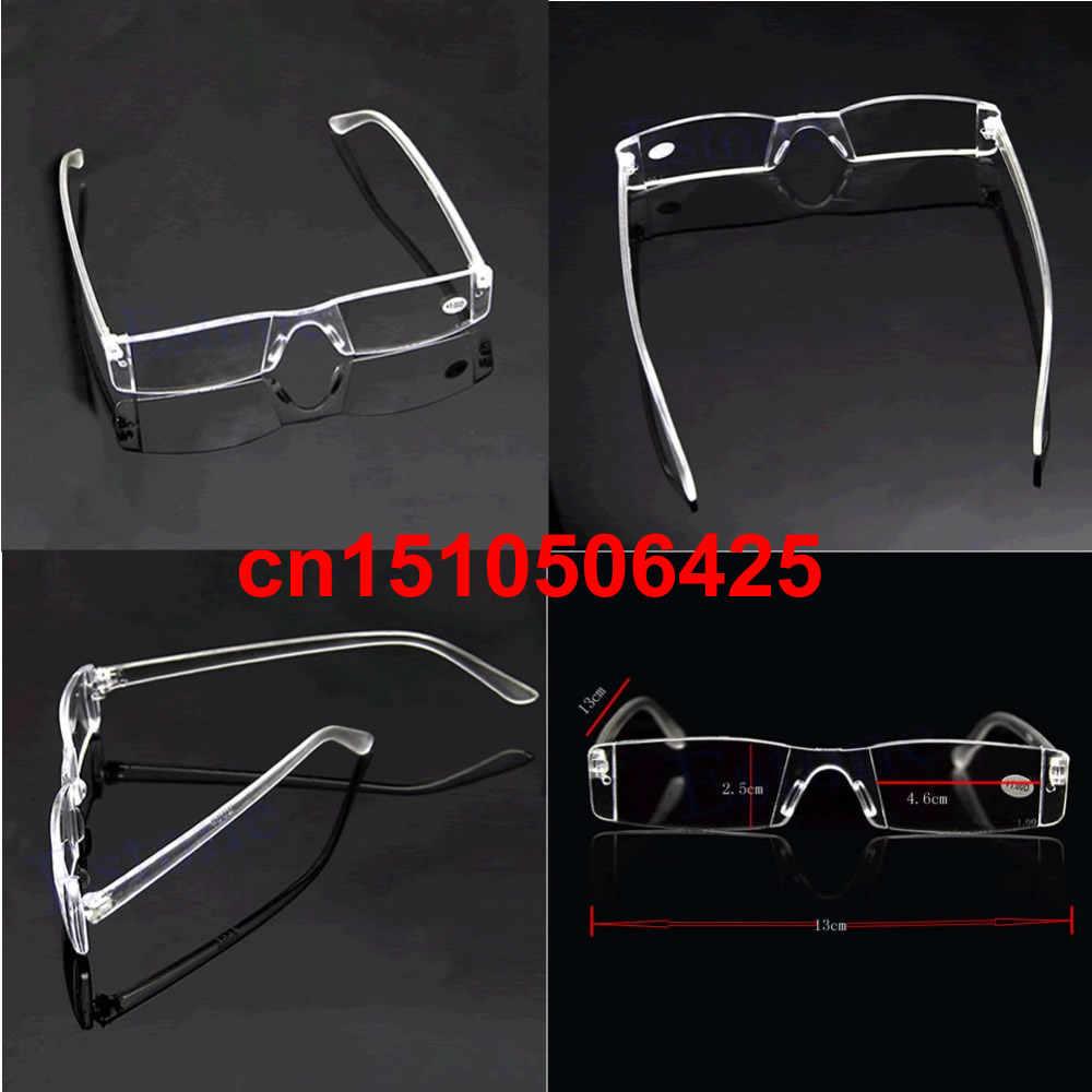 สายตายาวสายตา1.00-4.00ล้างแว่นตาที่ไม่มีขอบแว่นอ่านหนังสือสำหรับผู้ชายผู้หญิง