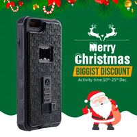 SIKAI For IPhone 7 7Plus Case 3 In 1 Bottle Opener Cigarette Lighter Cover Case For