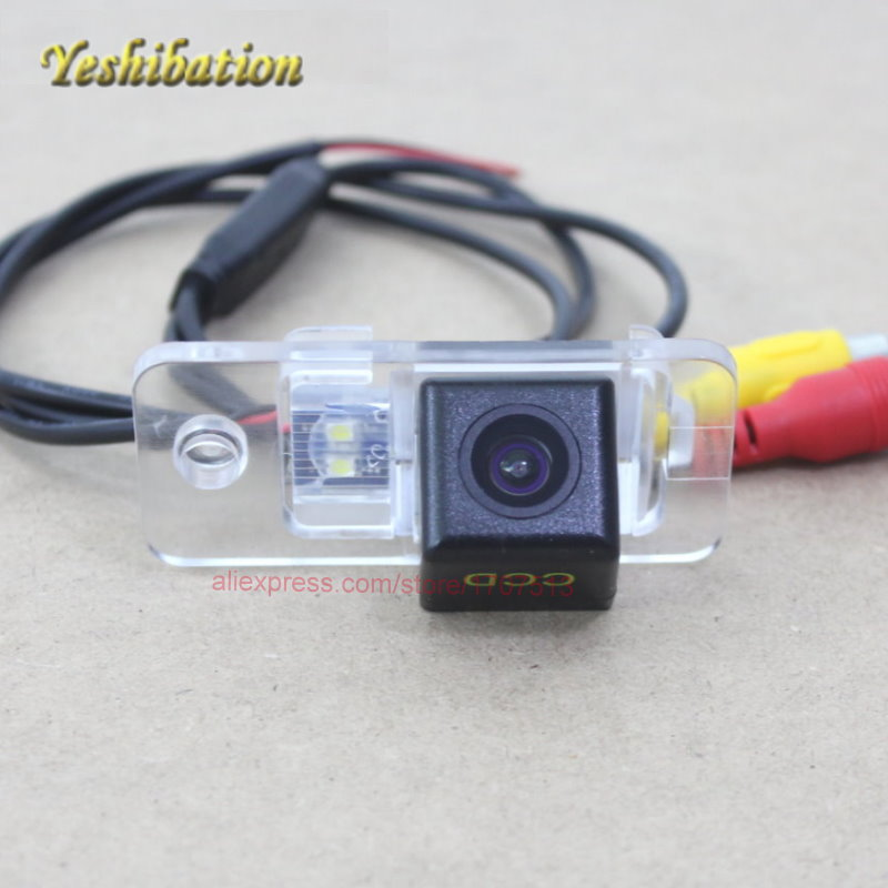 Rearview kamera pro Audi Q7 SQ7 4L 2005 ~ 2015 Pohled zezadu Reverzní zálohovací kamera pro parkování HD Night Vision