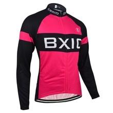 BXIO Invierno Ciclismo Jersey Invierno Ciclismo ropa Mujer Seamless Costura Camisa de la Bici Larga Sólo Ropa de La Bicicleta Personalizada 135-J