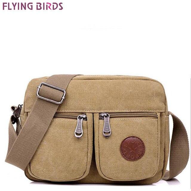 FLYING BIRDS man bag men messenger bags men s travel bags new purse bolsas high  quality fashion canvas handbag LM4273fb cd7bc796ae